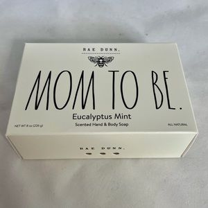 BRAND NEW 2021 Rae Dunn MOM TO BE Bar soap